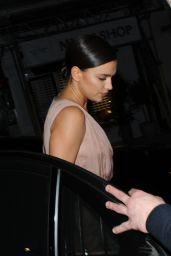Irina Shayk Night Out Style - London, May 2015