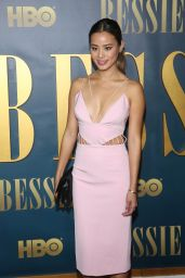 Jamie Chung Attends Bessie Screening in New York City