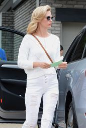 January Jones - Joel Silvers Memorial Day Party in Los Angeles, May 2015