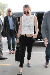 Jennifer Lawrence at LAX Airport, April 2015