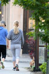 Jennifer Lawrence - Walking Her Dog in Motreal, May 2015