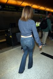 Jennifer Lopez Booty in Jeans at LAX AIrport, May 2015