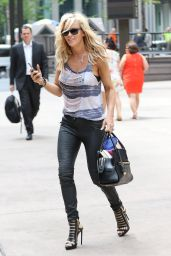 Jenny McCarthy Street Fashion - Out in New York City, May 2015