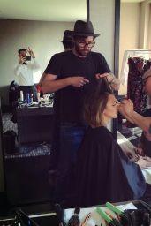 Jessica Alba - 2015 MET Gala Prep Photo Diary