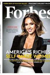 Jessica Alba - Forbes Magazine June 2015 Issue
