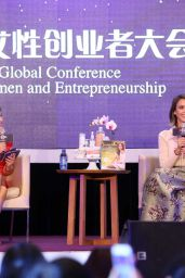Jessica Alba - Global Women Entrepreneurs Conference in Hangzhou, Zhejiang, May 2015
