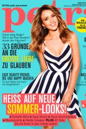 Jessica Alba - Petra Magazine (Germany) June 2015 Cover