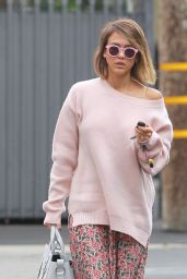 Jessica Alba Style - Out in Los Angeles, May 2015