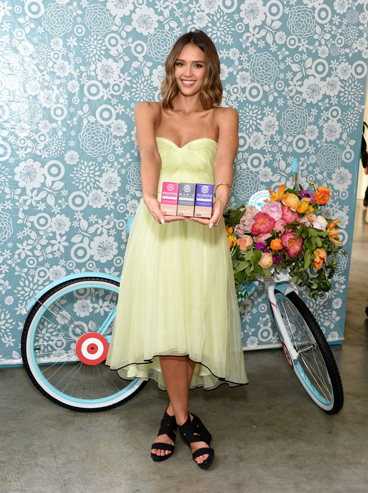 Jessica Alba The Honest Company At Target One Year