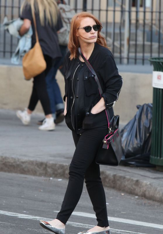 Jessica Chastain - Out in Soho, New York City, May 2015