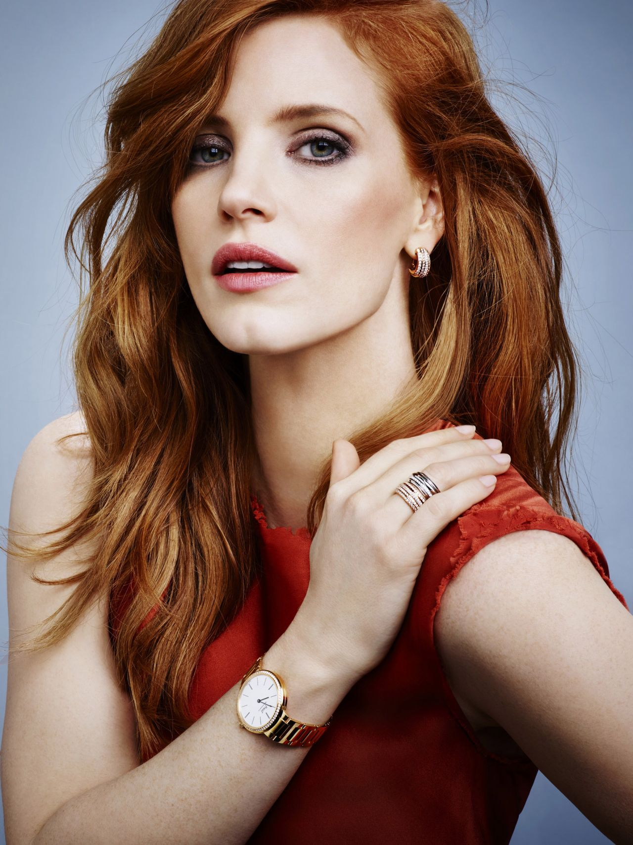 Jessica Chastain - Piaget Jewerly 2015 Ad Campaign Jessica Chastain