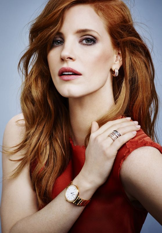 Jessica Chastain - Piaget Jewerly 2015 Ad Campaign