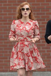 Jessica Chastain Style - Out in New York City, May 2015