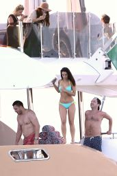 Jessica Lowndes Bikini Candids - on a Boat in Cannes, France, May 2015