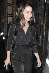 Jessica Lowndes Night Out Style - At the Mahiki Nightclub in London, May 2015