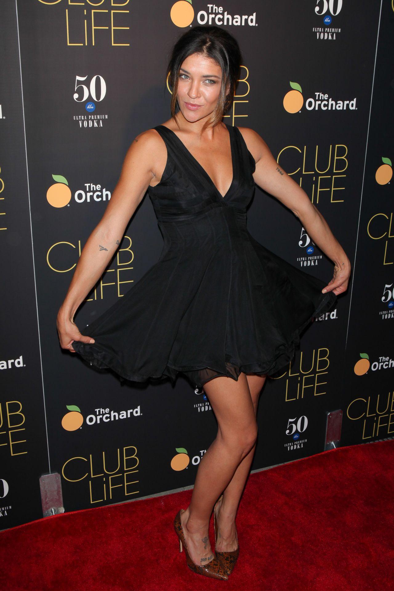 Jessica Szohr Club Life Premiere In New York City