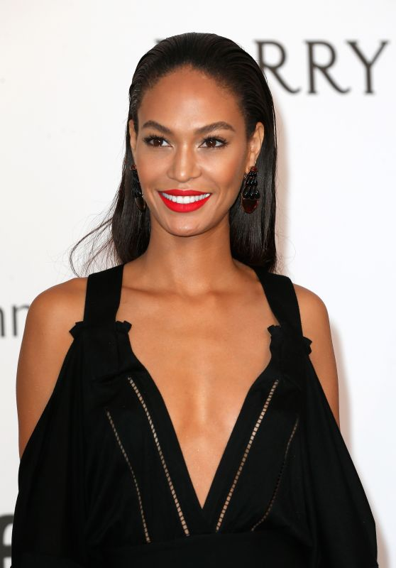 Joan Smalls – 2015 amfAR Cinema Against AIDS Gala in Antibes (France)