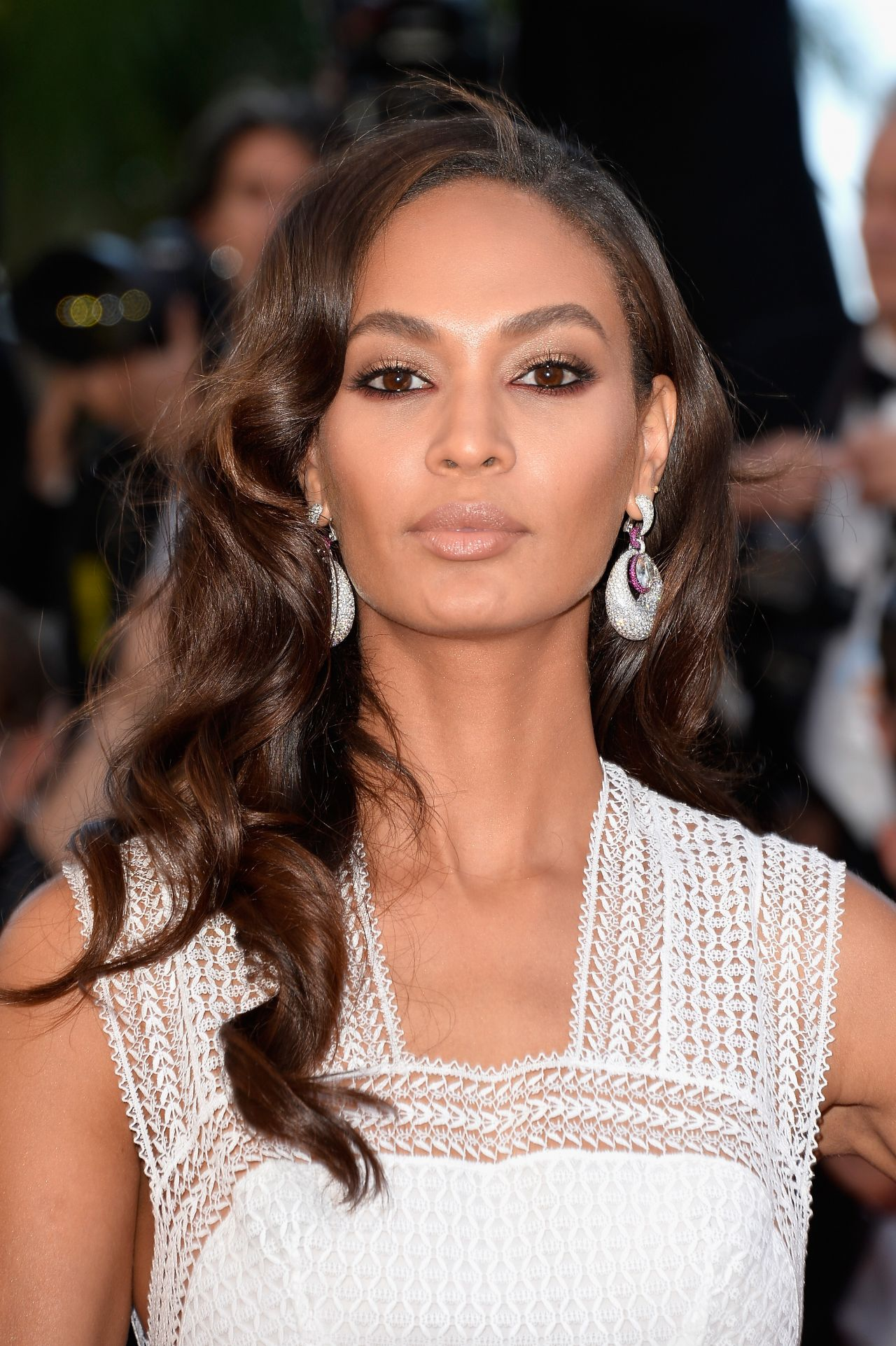 Joan Smalls At Topshop Fashion Show At London Fashion Week: Youth Premiere At 2015 Cannes Film Festivala