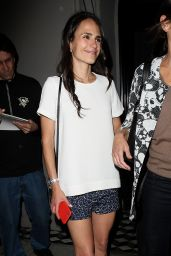 Jordana Brewster at Craigs Restaurant in West Hollywood, May 2015