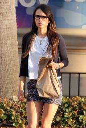 Jordana Brewster Leggy in Shorts - Out in Malibu, May 2015