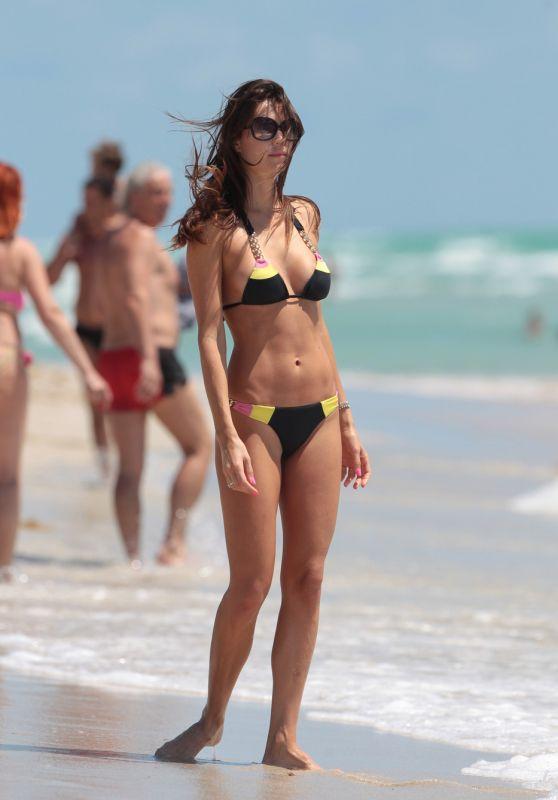 Julia Pereira Bikini Pics - Miami, May 2015