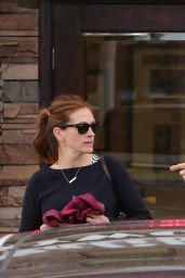 Julia Roberts Casual Style - Out in Malibu, May 2015