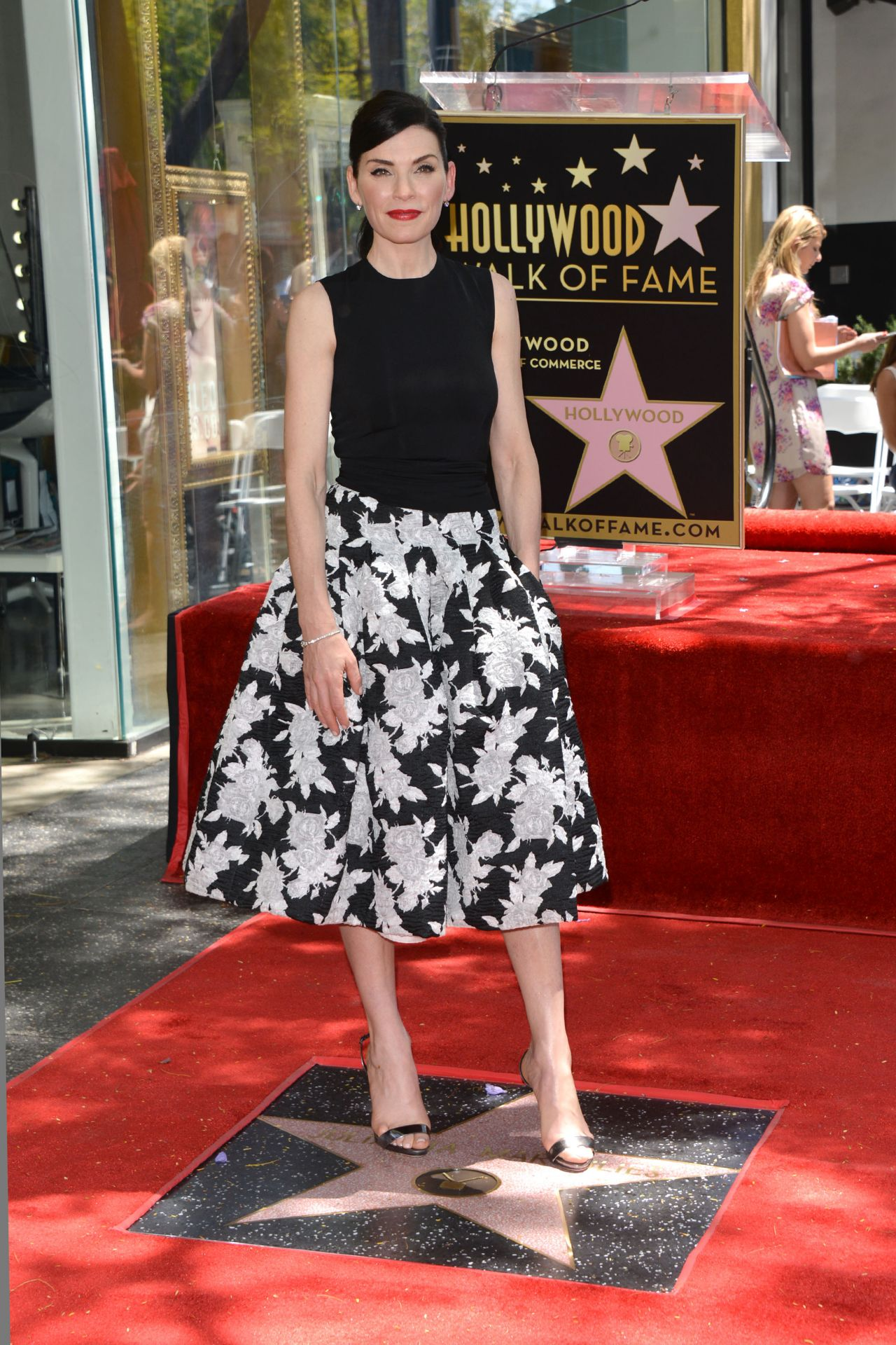 Julianna Margulies hollywood walk of fame