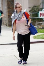 Kaley Cuoco - Leavinga Yoga Class in Los Angeles, May 2015