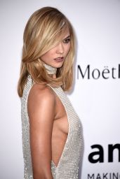 Karlie Kloss – 2015 amfAR Cinema Against AIDS Gala in Antibes (France)