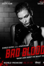 Karlie Kloss - Bad Blood Music Video Poster