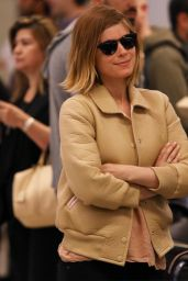 Kate Mara at JFK Airport, May 2015