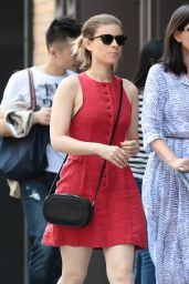 Kate Mara Casual Style - Out in NYC, May 2015
