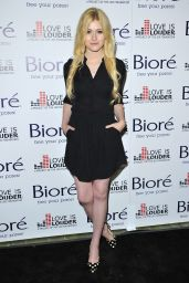 Katherine McNamara - Biore Skincare Love Is Louder Project Event in Los Angeles, May 2015