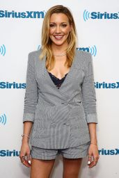 Katie Cassidy at SiriusXM Studios in NY - May 2015