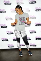 Keke Palmer - Playtex Sport Hosts a Trampoline Fitness Class in New York City, April 2015