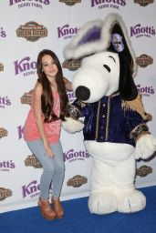 Kelli Berglund - Knott's Berry Farm's 'Voyage To The Iron Reef' Ride Launch in Buena Park