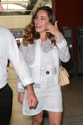 Kelly Brook - Airport in Nice, France, May 2015