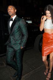 Kendall Jenner - Arriving at Rihanna