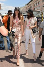 Kendall Jenner, Bella Hadid and Gigi Hadid - F1 Grand Prix of Monaco in Monte-Carlo, May 2015