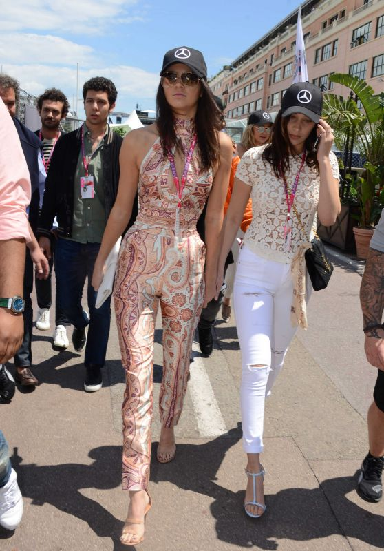 Kendall Jenner, Bella Hadid and Gigi Hadid – F1 Grand Prix of Monaco in Monte-Carlo, May 2015