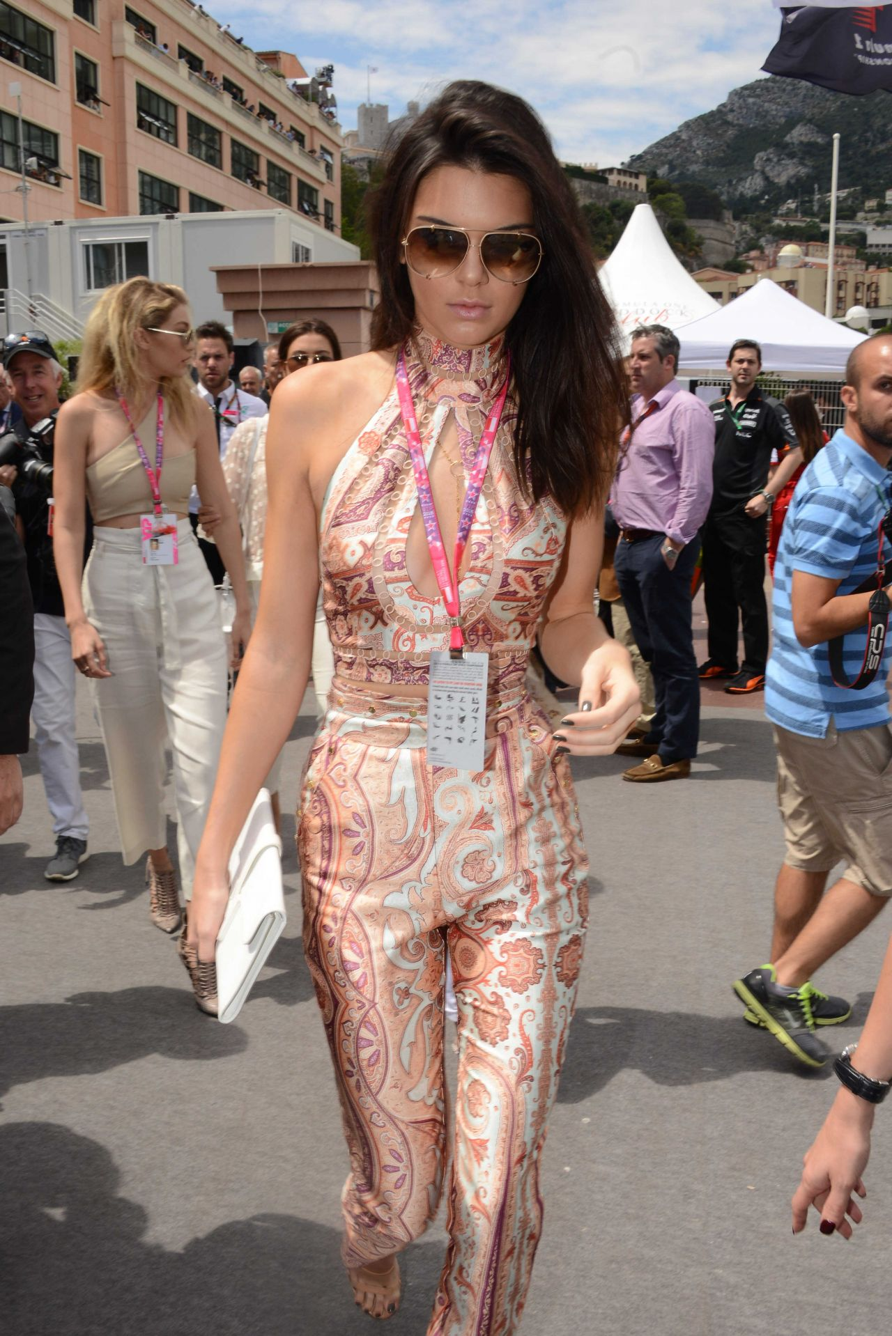 Kendall Jenner Bella Hadid And Gigi Hadid F1 Grand Prix
