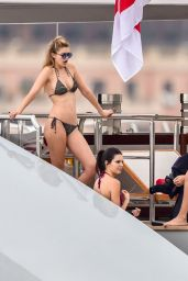 Kendall Jenner, Bella Hadid & Gigi Hadid, Hailey Baldwin - On a Yacht in Monte Carlo, May 2015