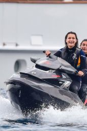 Kendall Jenner, Bella Hadid & Gigi Hadid, Hailey Baldwin - On a Yacht in Monte Carlo, May 2015
