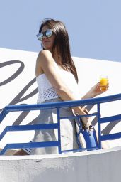 Kendall Jenner - Breakfast at Hotel Martinez in Cannes, May 2015