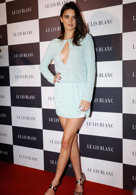 Kendall Jenner - Le Lis Blanc Cocktail Party in Sao Paulo, May 2015