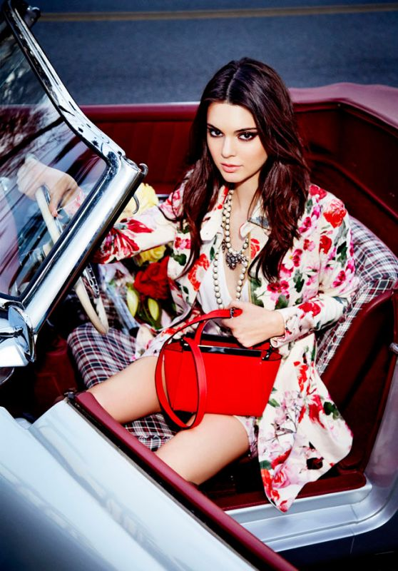 Kendall Jenner - Le Lis Blanc Photoshoot - January 2015