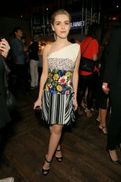 Kiernan Shipka – NYLON Young Hollywood Party in Hollywood, May 2015