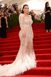 Kim Kardashian – Costume Institute Benefit Gala in New York City, May 2015