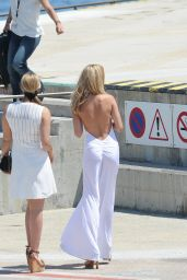 Kimberley Garner Arriving in Cannes, France, May 2015