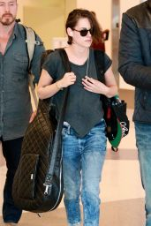 Kristen Stewart at LAX Airport, May 2015